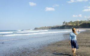 Пляжи на Бали. Балиан – идеальный пляж с черным песком