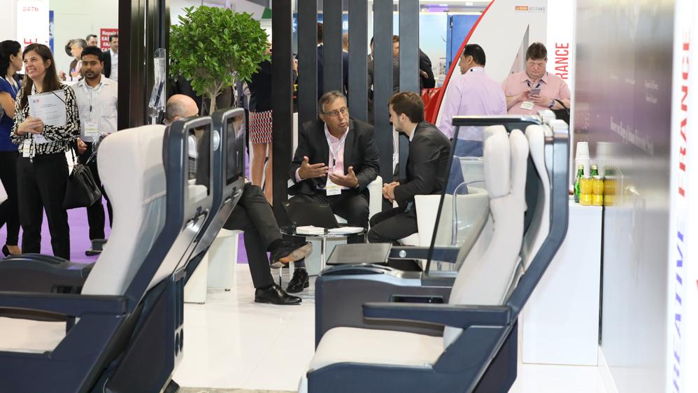 Международная выставка интерьерного дизайна самолетов в Дубае — 2018