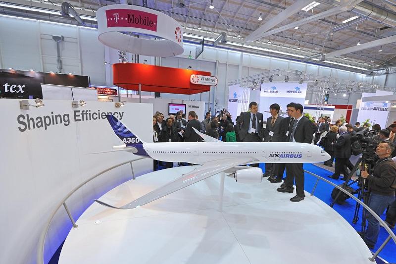 Гамбург. Международная выставка авиации